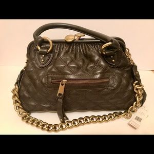 Authentic Marc Jacobs leather quilted handbag